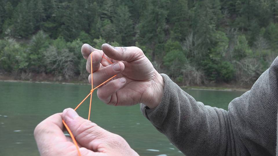 How to tie the Duncan Loop Knot - Fishing Knot Video
