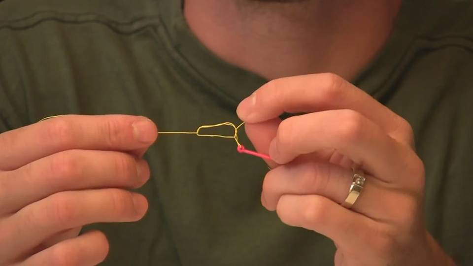 How to tie the Improved Clinch Knot - Fishing Knot Video